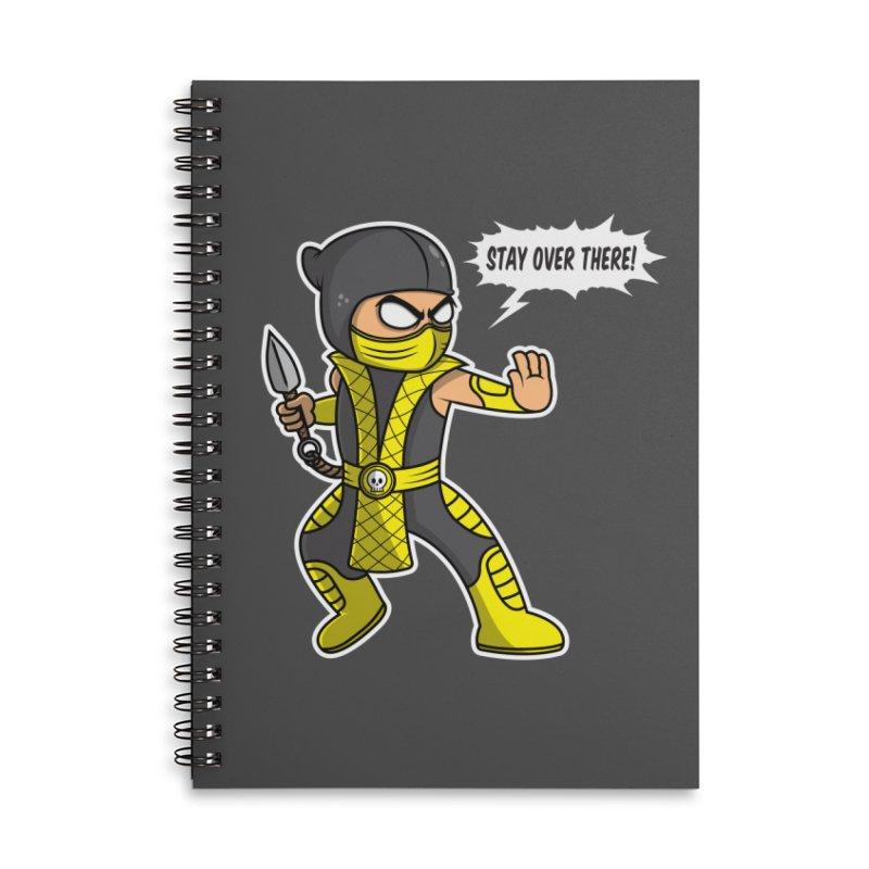 Social Distancing Ninja Accessories Notebook by Wasabi Snake
