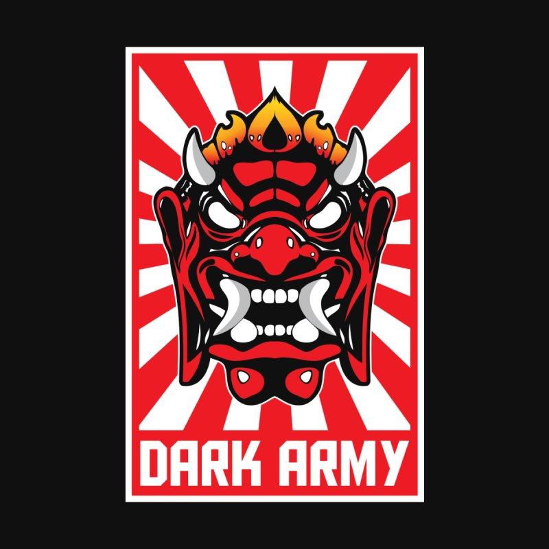 Dark Army Hacking Group Men's Sweatshirt by Wasabi Snake