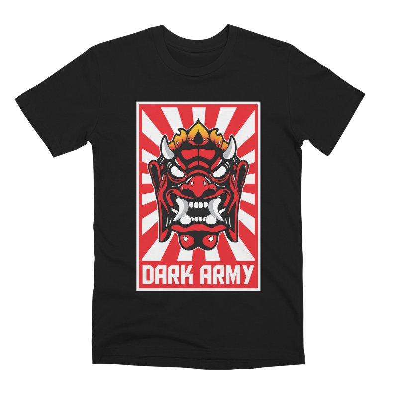 Dark Army Hacking Group Men's Premium T-Shirt by Wasabi Snake