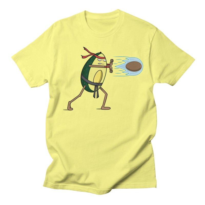 Avocadoken Men's T-Shirt by Wasabi Snake