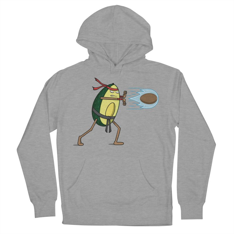 Avocadoken Women's French Terry Pullover Hoody by Wasabi Snake