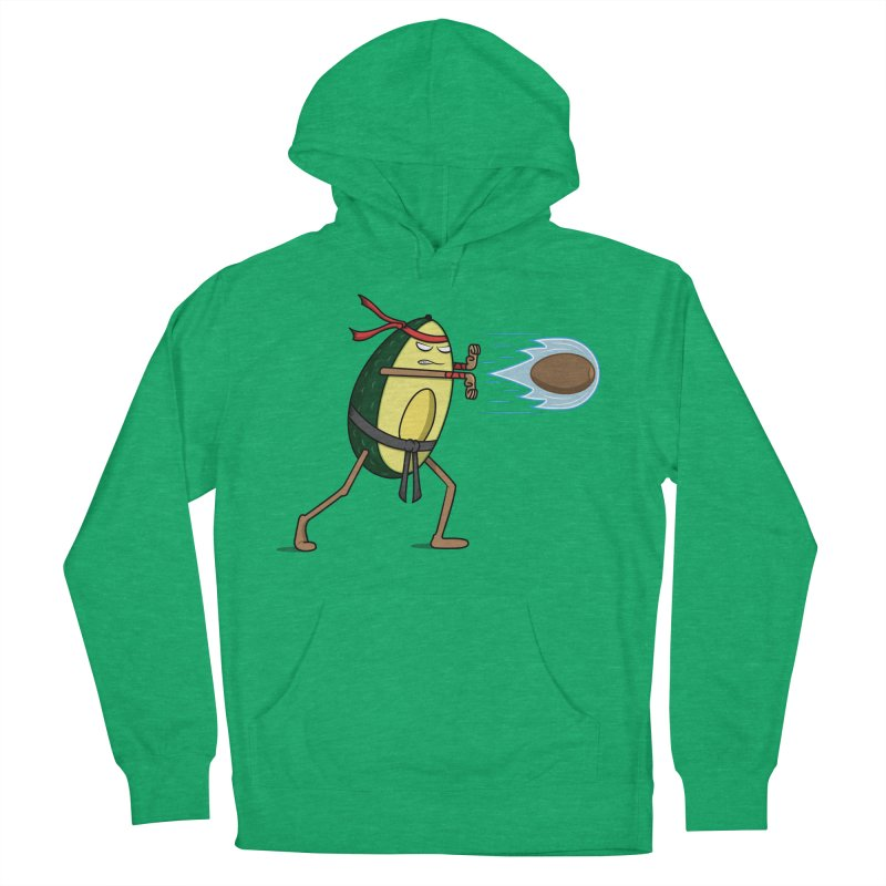 Avocadoken Men's French Terry Pullover Hoody by Wasabi Snake