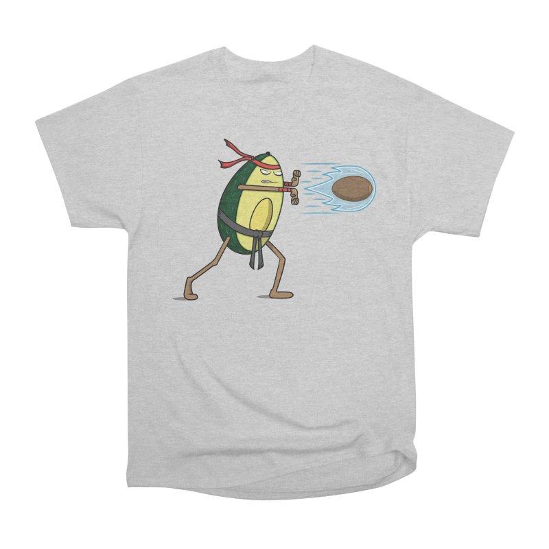 Avocadoken Men's Heavyweight T-Shirt by Wasabi Snake