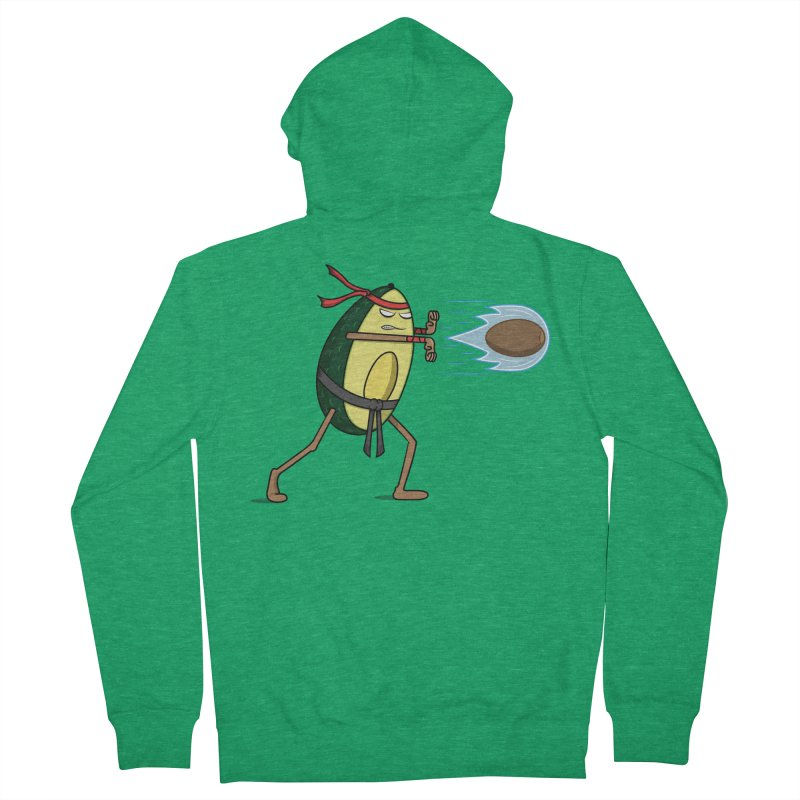 Avocadoken Men's Zip-Up Hoody by Pete Styles' Artist Shop