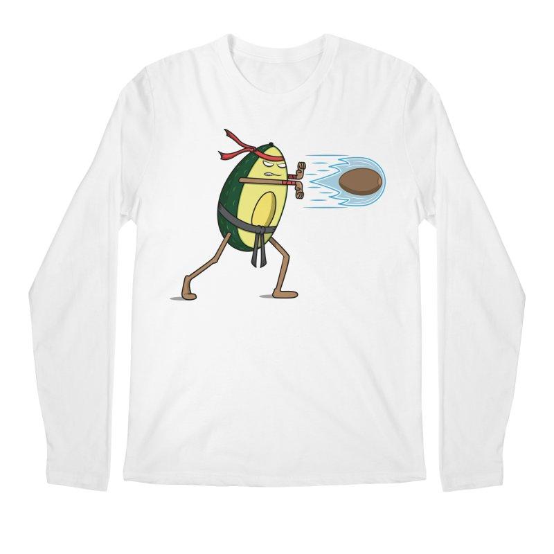 Avocadoken Men's Regular Longsleeve T-Shirt by Wasabi Snake