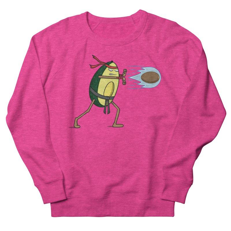 Avocadoken Women's French Terry Sweatshirt by Wasabi Snake