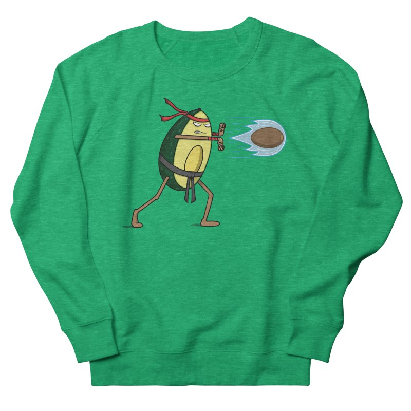 Avocadoken Men's French Terry Sweatshirt by Wasabi Snake