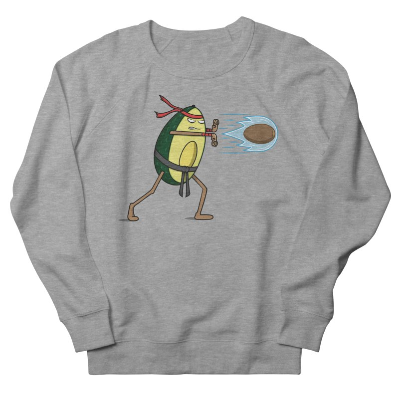 Avocadoken Men's French Terry Sweatshirt by Wasabi Snake