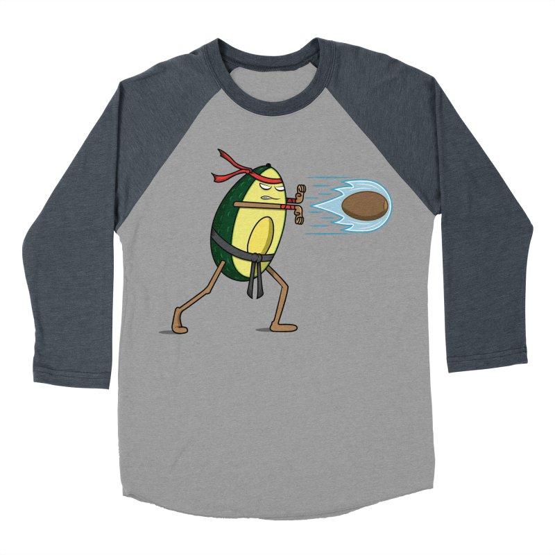 Avocadoken Women's Baseball Triblend T-Shirt by Pete Styles' Artist Shop