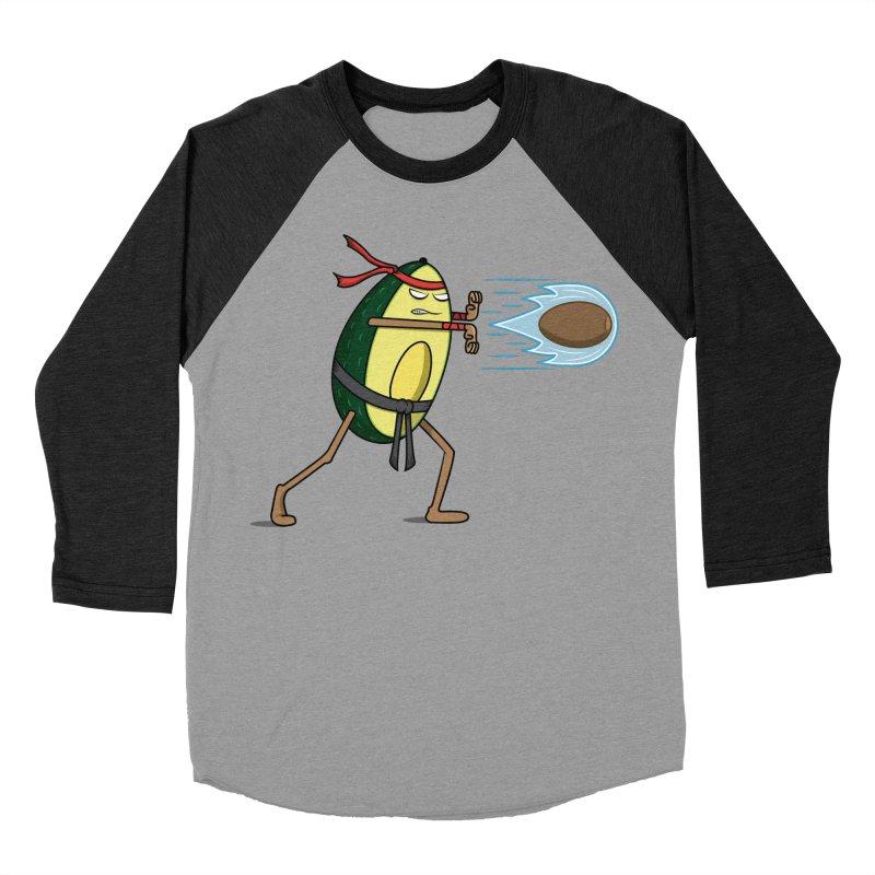 Avocadoken Men's Baseball Triblend T-Shirt by Pete Styles' Artist Shop