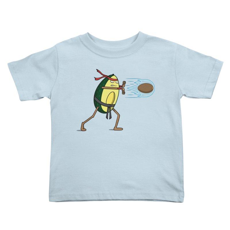 Avocadoken Kids Toddler T-Shirt by Wasabi Snake