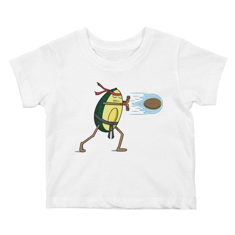 Avocadoken Kids Baby T-Shirt by Wasabi Snake