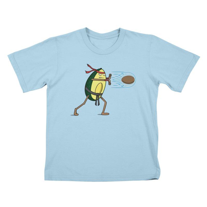 Avocadoken Kids T-Shirt by Pete Styles' Artist Shop