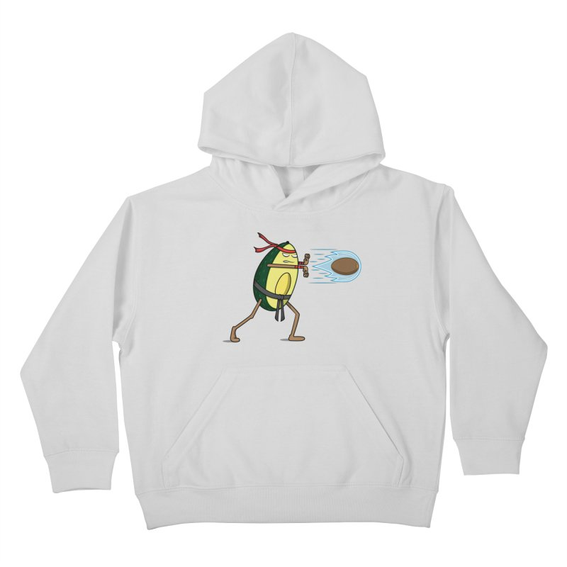 Avocadoken Kids Pullover Hoody by Wasabi Snake