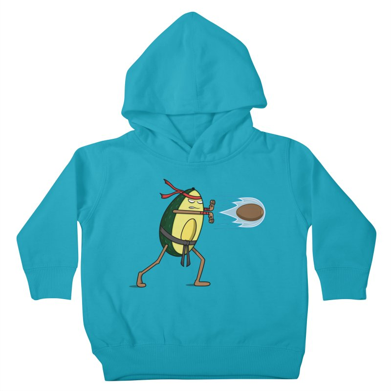 Avocadoken Kids Toddler Pullover Hoody by Wasabi Snake