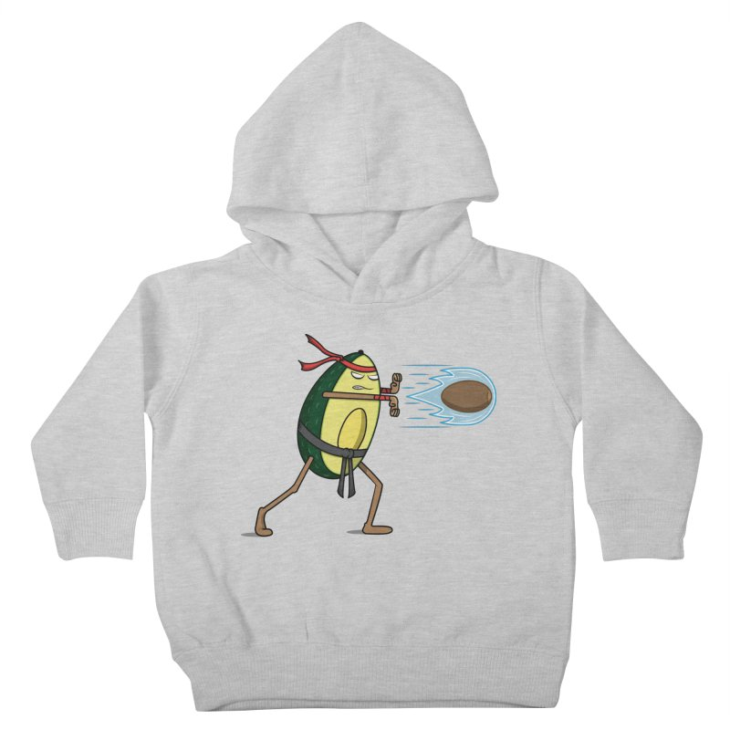 Avocadoken Kids Toddler Pullover Hoody by Wasabi Snake