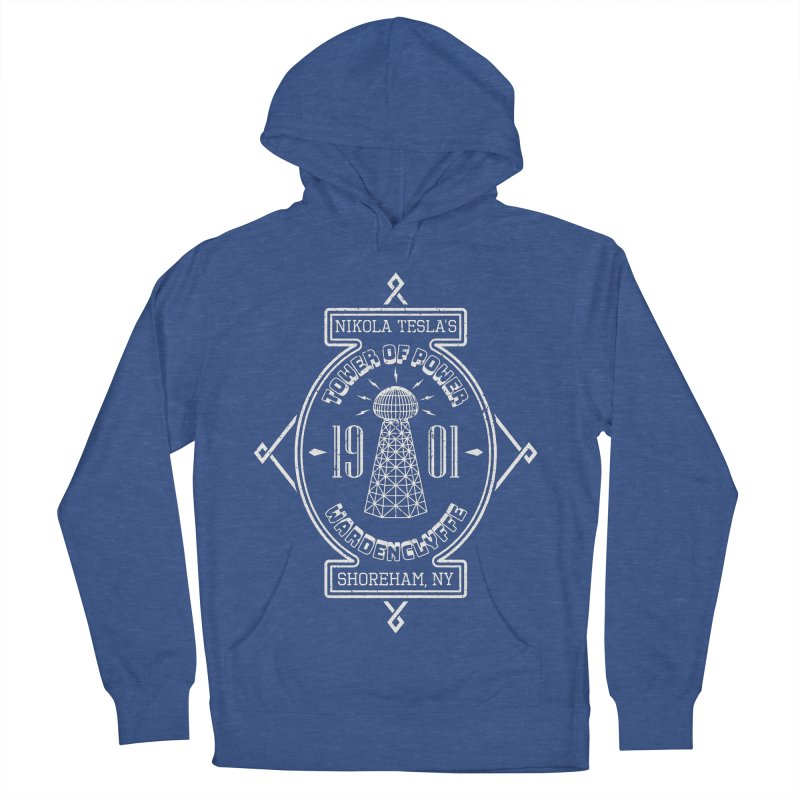 Tower Of Power Men's French Terry Pullover Hoody by Wasabi Snake