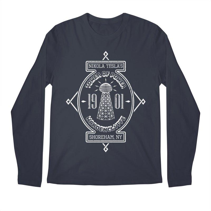 Tower Of Power Men's Regular Longsleeve T-Shirt by Wasabi Snake