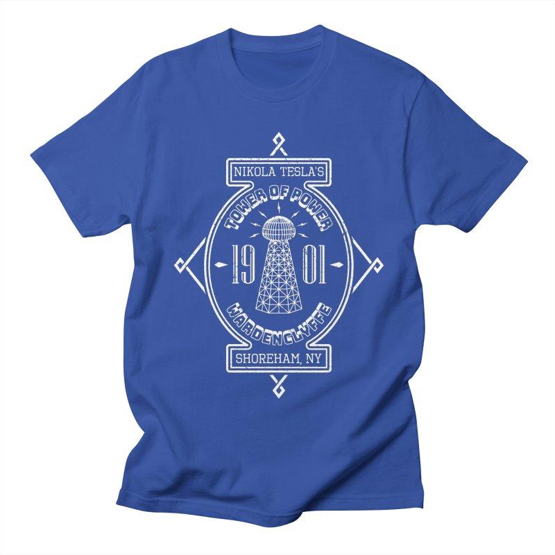 Tower Of Power Men's Regular T-Shirt by Wasabi Snake