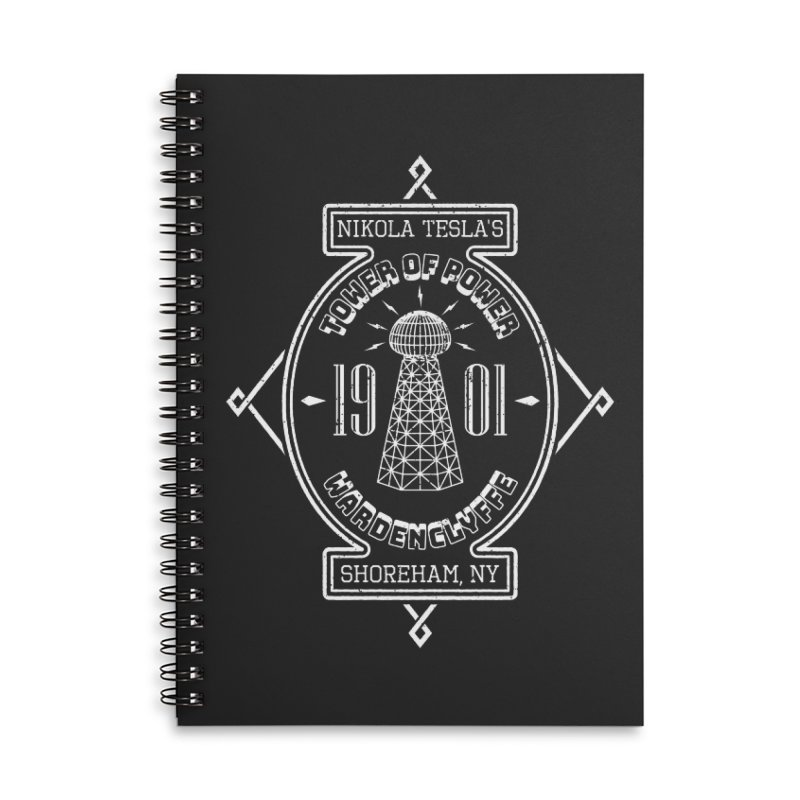 Tower Of Power Accessories Lined Spiral Notebook by Wasabi Snake
