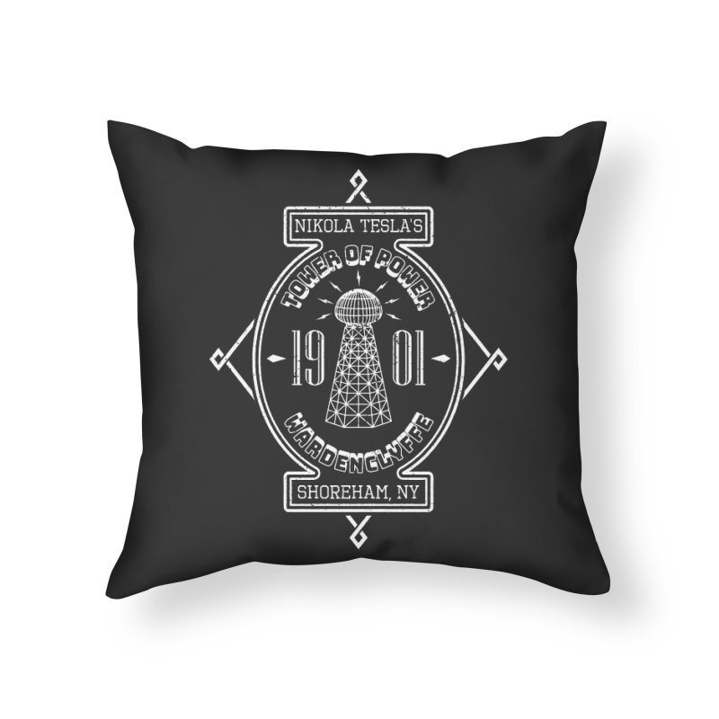 Tower Of Power Home Throw Pillow by Wasabi Snake