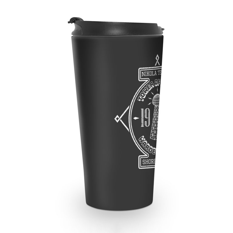 Tower Of Power Accessories Travel Mug by Wasabi Snake