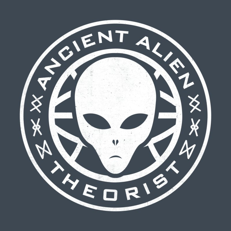 Ancient Alien Theorist by Wasabi Snake