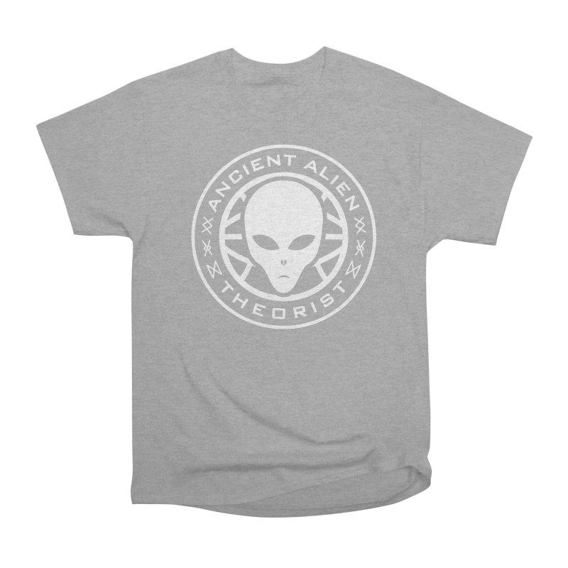 Ancient Alien Theorist Women's Heavyweight Unisex T-Shirt by Wasabi Snake