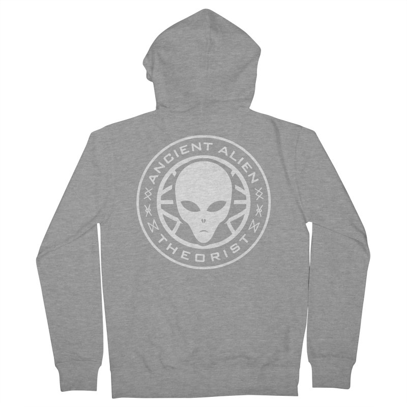 Ancient Alien Theorist Men's Zip-Up Hoody by Pete Styles' Artist Shop