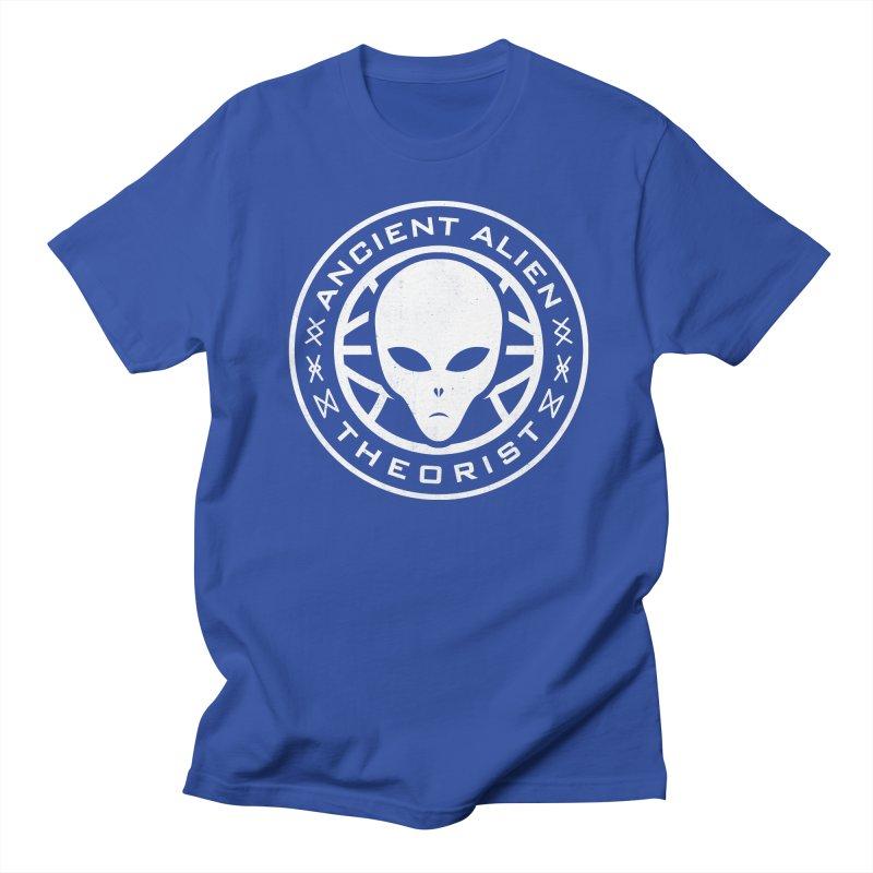 Ancient Alien Theorist Women's Regular Unisex T-Shirt by Wasabi Snake