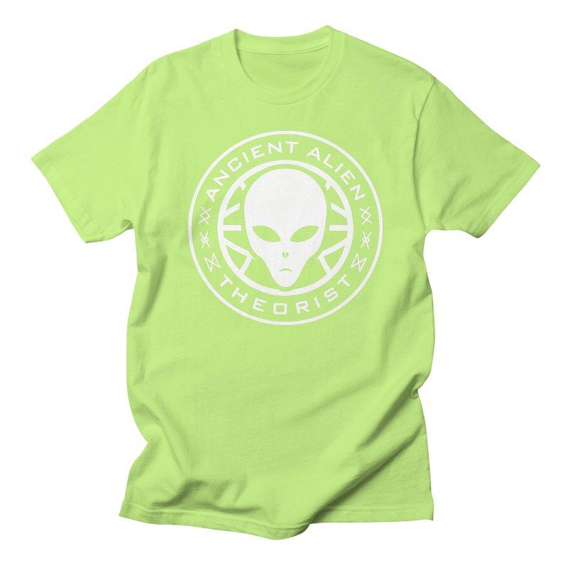 Ancient Alien Theorist Men's Regular T-Shirt by Wasabi Snake