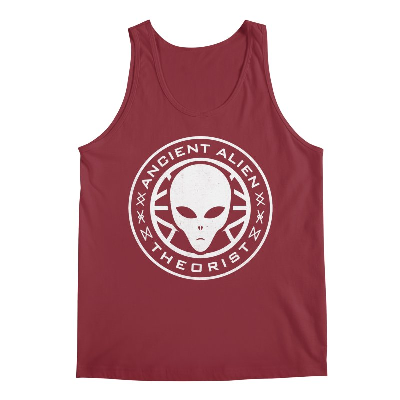 Ancient Alien Theorist Men's Regular Tank by Wasabi Snake