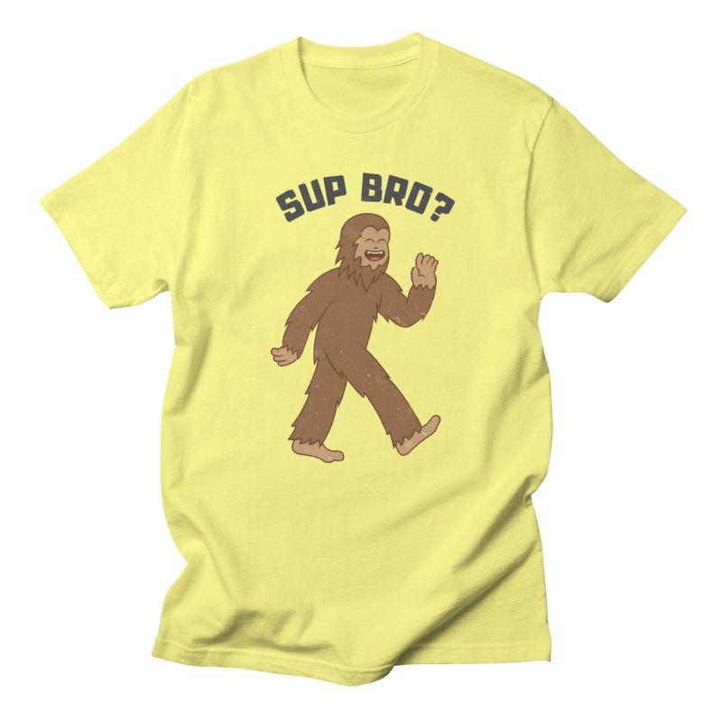 Sup Bigfoot Men's T-Shirt by Wasabi Snake