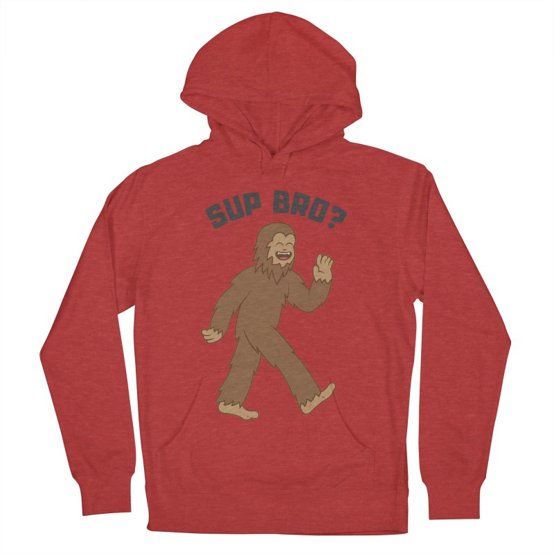 Sup Bigfoot Men's French Terry Pullover Hoody by Wasabi Snake