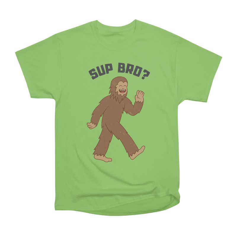 Sup Bigfoot Women's Heavyweight Unisex T-Shirt by Wasabi Snake