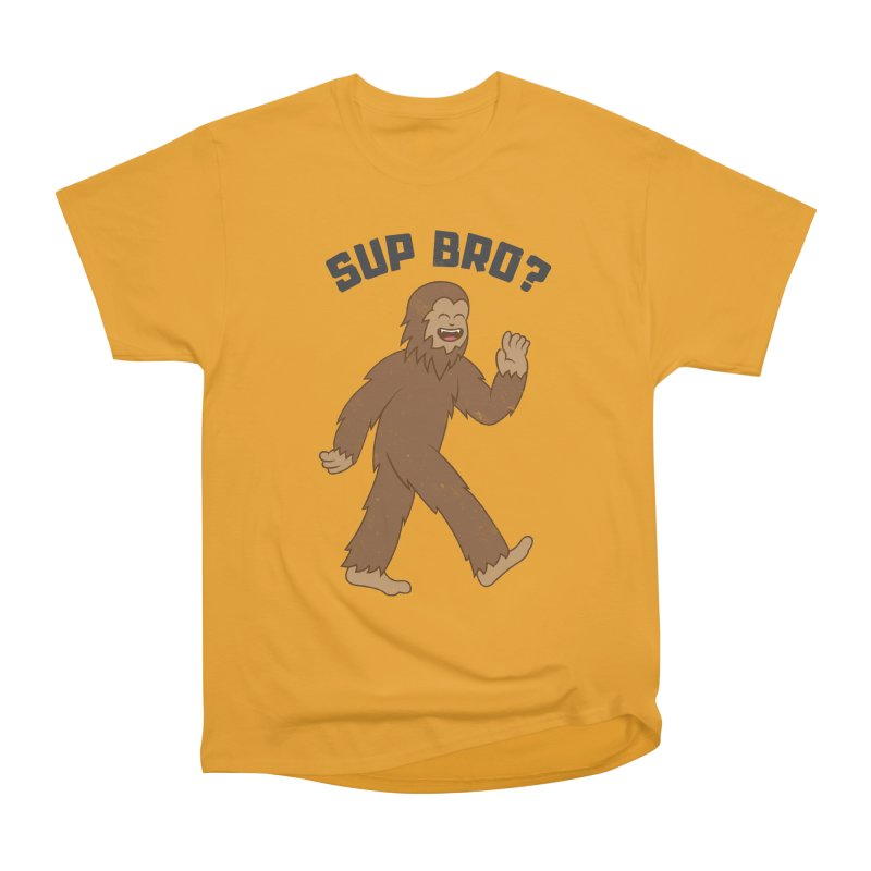Sup Bigfoot Men's Heavyweight T-Shirt by Wasabi Snake