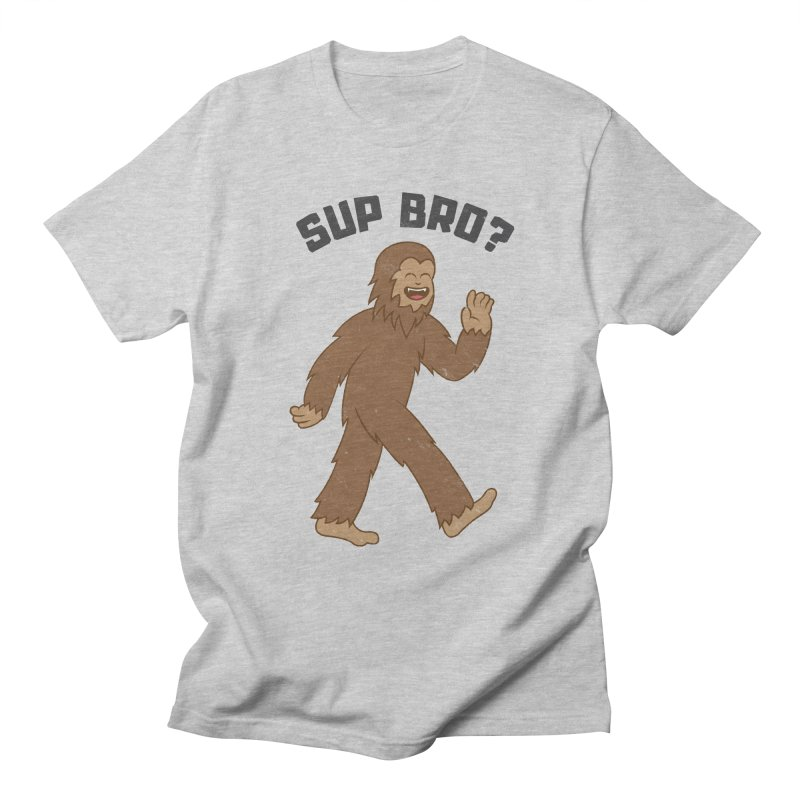 Sup Bigfoot Men's T-Shirt by Pete Styles' Artist Shop