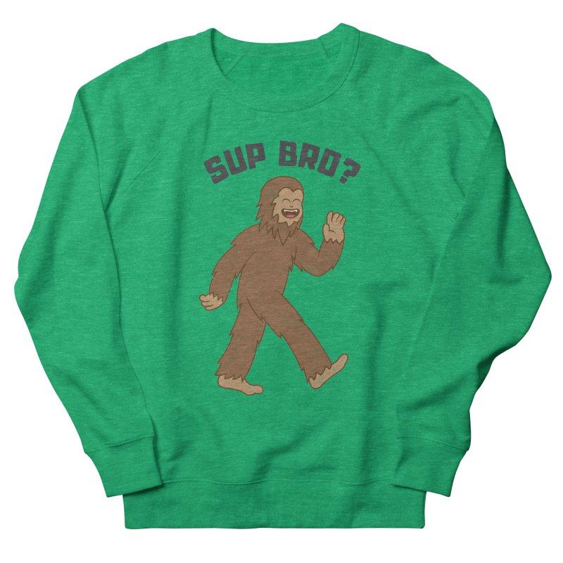Sup Bigfoot Men's French Terry Sweatshirt by Wasabi Snake