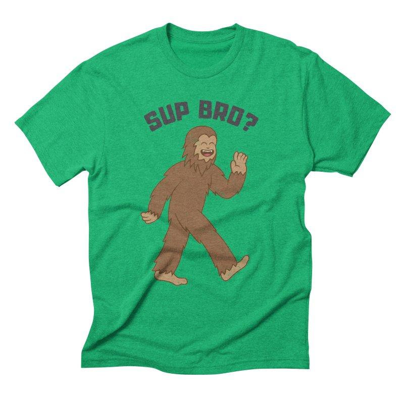 Sup Bigfoot Men's Triblend T-Shirt by Wasabi Snake
