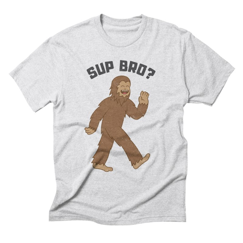 Sup Bigfoot Men's Triblend T-Shirt by Pete Styles' Artist Shop