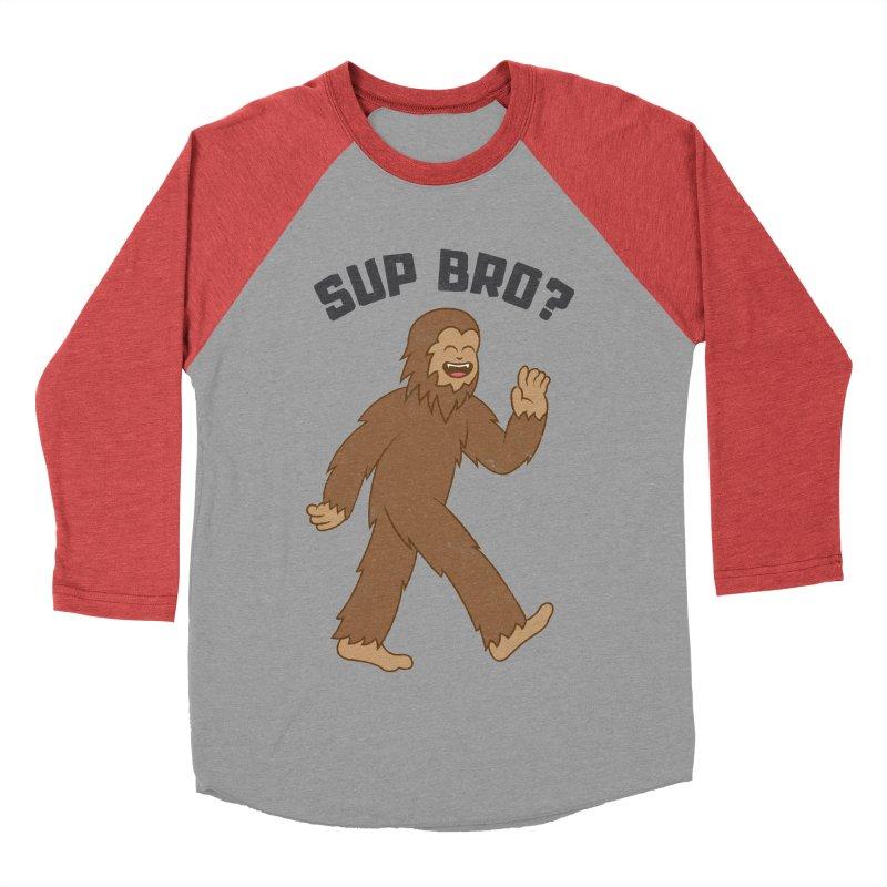 Sup Bigfoot Women's Baseball Triblend T-Shirt by Pete Styles' Artist Shop
