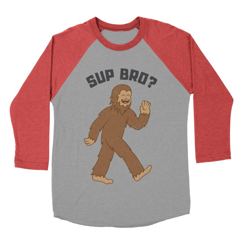 Sup Bigfoot Men's Longsleeve T-Shirt by Wasabi Snake
