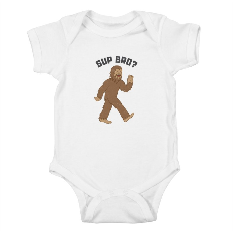 Sup Bigfoot Kids Baby Bodysuit by Pete Styles' Artist Shop