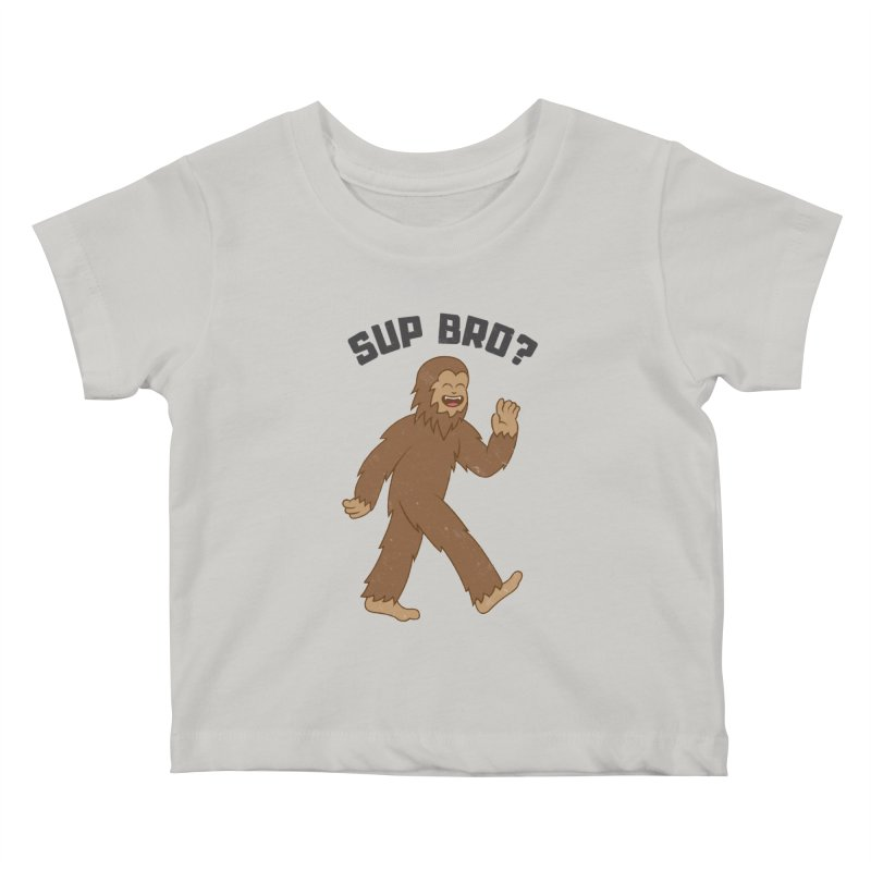 Sup Bigfoot Kids Baby T-Shirt by Pete Styles' Artist Shop