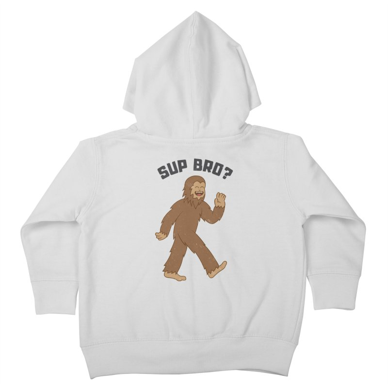 Sup Bigfoot Kids Toddler Zip-Up Hoody by Wasabi Snake