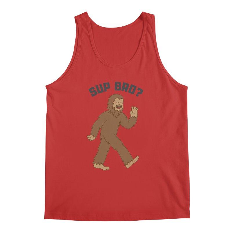 Sup Bigfoot Men's Tank by Pete Styles' Artist Shop