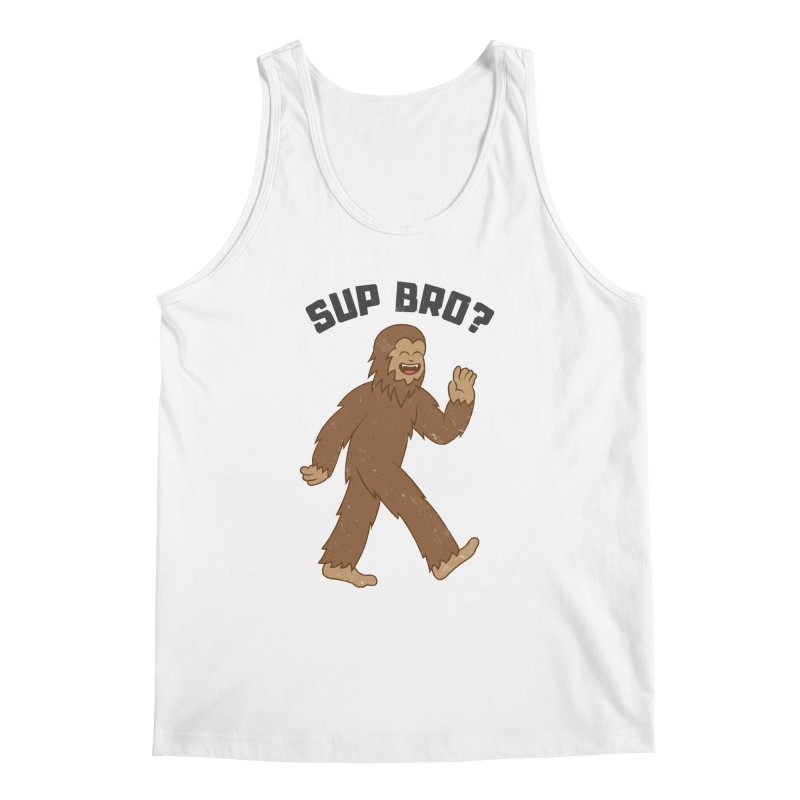 Sup Bigfoot Men's Regular Tank by Wasabi Snake