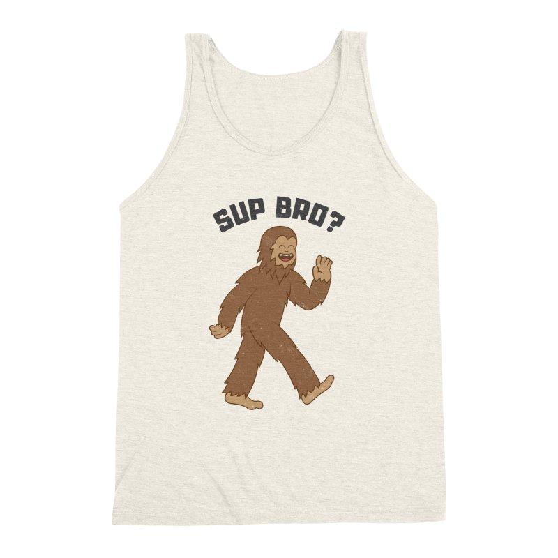 Sup Bigfoot Men's Triblend Tank by Wasabi Snake