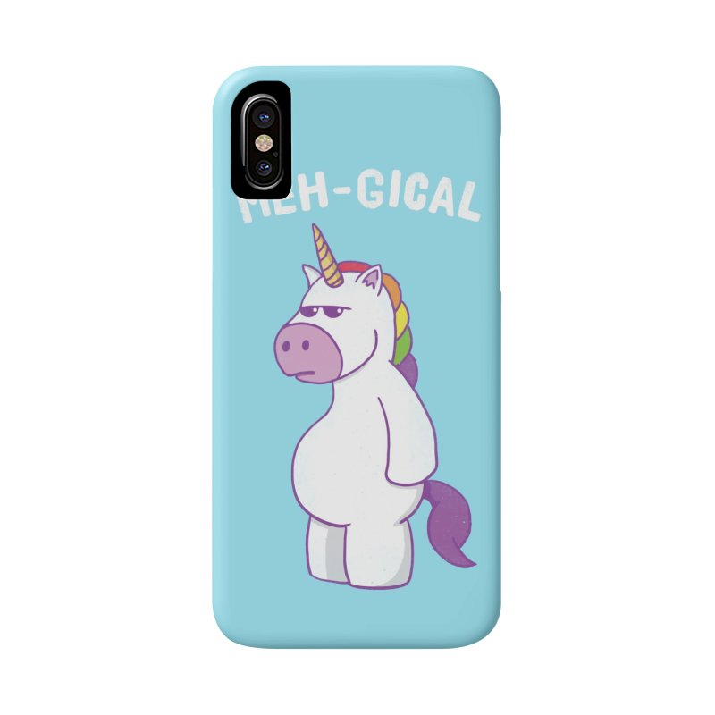The Meh-gical Unicorn Accessories Phone Case by Wasabi Snake