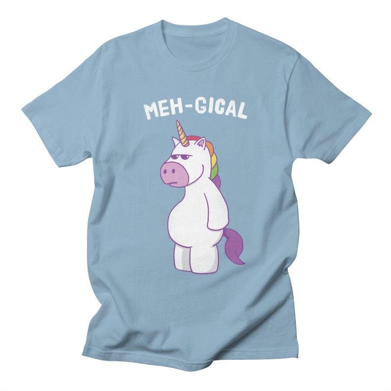 The Meh-gical Unicorn Men's T-Shirt by Pete Styles' Artist Shop